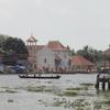 View Of Champakulam Village