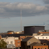 The Spire Of Dublin From Far