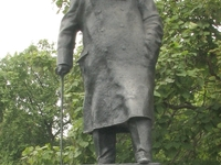 Statue Of Winston Churchill