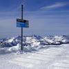 Top Of Cornice Bowl Ski Run