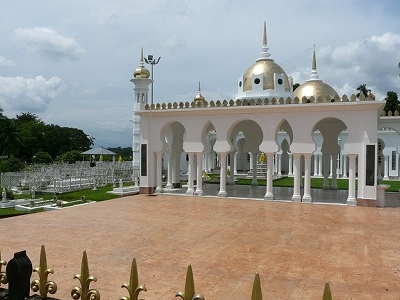 Ubudiah Mosque Royal Burial Site
