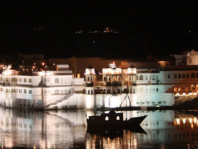 Udaipur Lake Palace Nightview