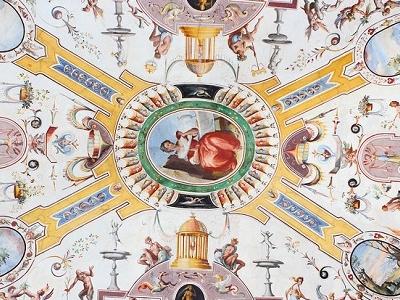 Uffizi Ceiling - Florence