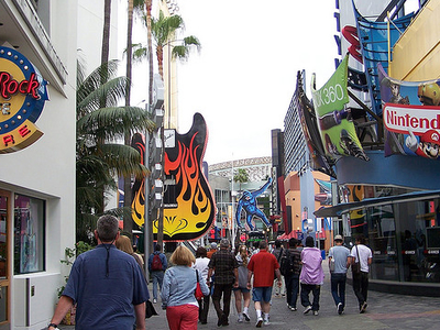 Universal Studios Hollywood Street