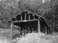 Upper Kintla Lake Patrol Cabin