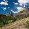 Upper Two Medicine Trail At Glacier - Montana - USA