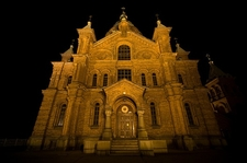 Uspenski Cathedral Night View - Helsinki Finland