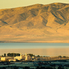 Utah Lake Telephoto View