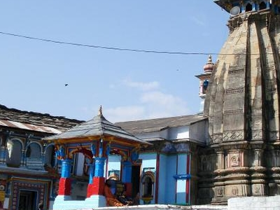 View Of Ukhimath Temple