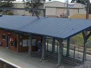 Unanderra Railway Station