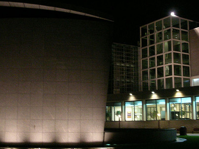 Van Gogh Museum At Night
