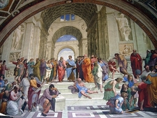 Vatican Museum - Raphael Rooms - School Of Athens