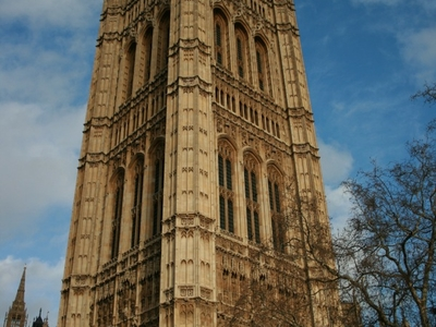 The Victoria Tower Stands
