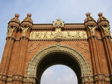 Victory Arch Of Barcelona