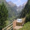 Viepoint On Moaalmstraße Road Tyrol Austria