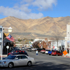 View Along South Bridge Street Toward Winnemucca Mountain