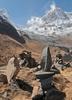 View Annapurna South - Nepal Himalayas