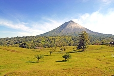 View Arenal Volcano Landscape