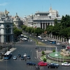 View Cibeles Fountain At Cibeles Square In Madrid