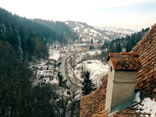 View From Bran Castle - Transylvania