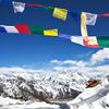 View Himalayas Beyond Prayer Flags - Nepal