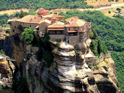 View Holy Trinity Monastery In Meteora
