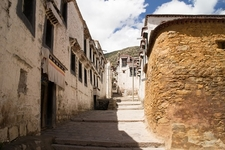 View Inside Drepung Monastery