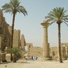 View Inside Karnak Temple