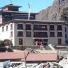 View Inside Tengboche Monastery - Nepal Himalayas