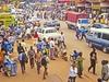 View Kampala Street Crowd