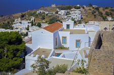 View Monastery Of St. John - Aegean - Greece