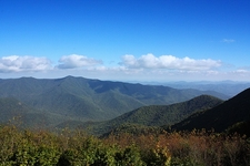 View NC Blue Ridge Mountains