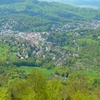 View Of Baden Baden From Mount Merkur.