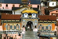 View Of Badrinath Temple