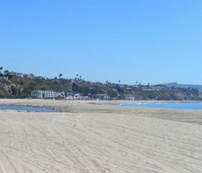 View Of Doheny State Beach
