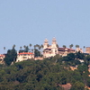 View Of Hearst Castle A Prominent Landmark In San Simeon
