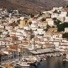View Of Hydra Town