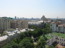 View Of Kiev From Saint Sophia Monastery