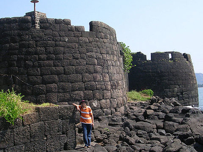 View Of Kolaba Fort