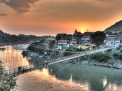 View Of Laxman Jhula