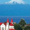 Puerto Varas With Osorno Volcano