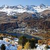 View Of St. Moritz