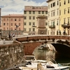View Of The Venice District Of Livorno