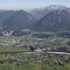 View Of The Town Reutte, Tyrol, Austria