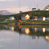 Kja Island With Lighthouse Off Vanna
