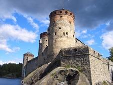 View Olavinlinna Castle Savonlinna In Finland
