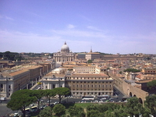 The View From Castel Sant'Angelo