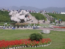 View Park At The Three Gorges Dam Site