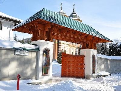 View Sinaiia Monastery