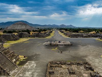 View Teotihuacan - Mexico